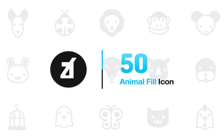Animal Fill Iconset Template New Screenshots BIG