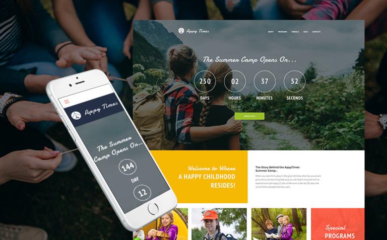 AppyTimes - Summer Camp WordPress Theme New Screenshots BIG