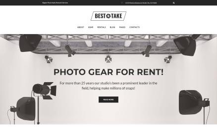 BestTake - Photo Studio Rentals & Services Responsive WordPress Theme