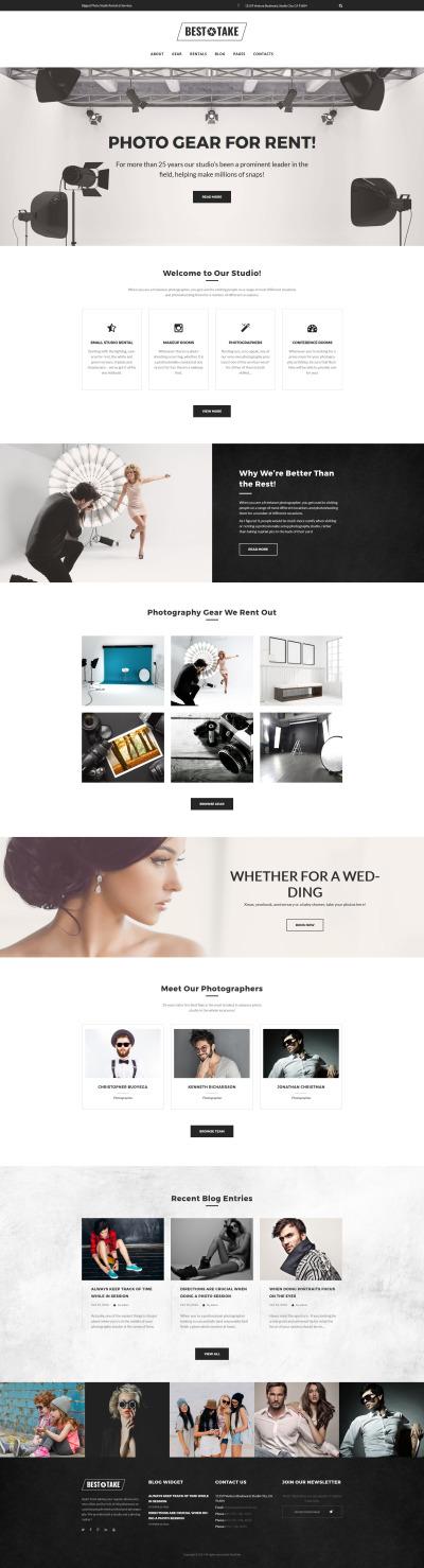 BestTake - Photo Studio Rentals & Services Responsive