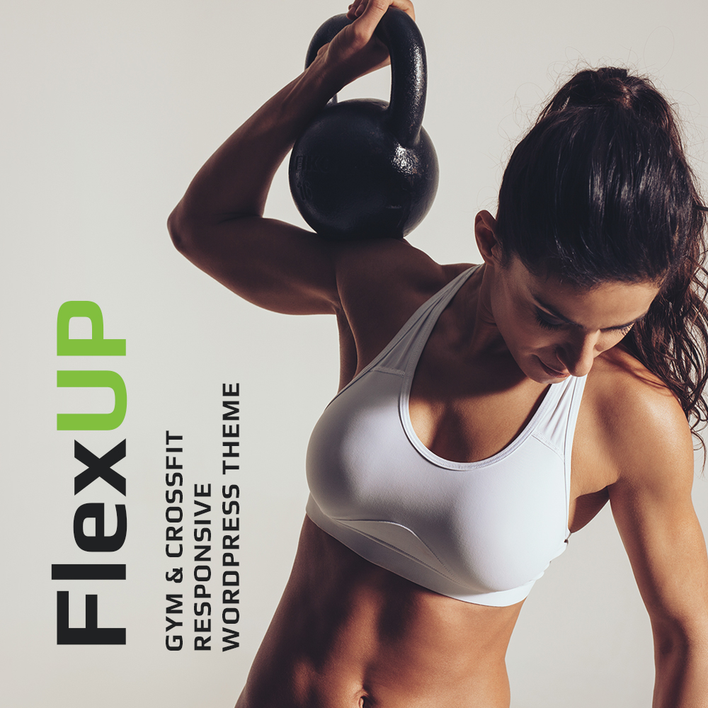 Flex Up - Crossfit WordPress Theme WordPress Theme