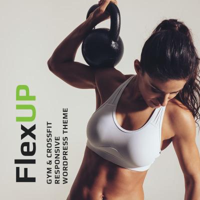 Flex Up - Crossfit WordPress Theme