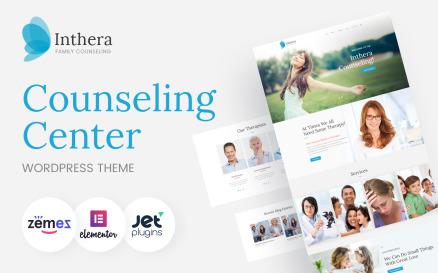 Inthera - Counseling Centre WordPress Theme