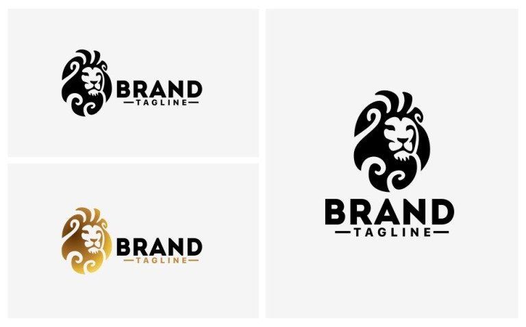 Lion Logo Template New Screenshots BIG