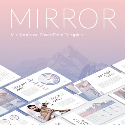 Mirror PowerPoint Template #63984
