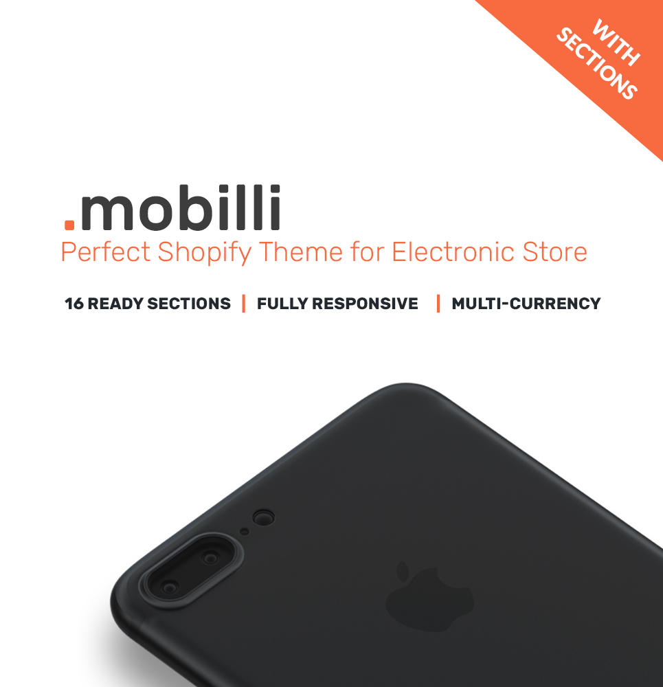 Mobile Store Responsive Shopify Theme - screenshot