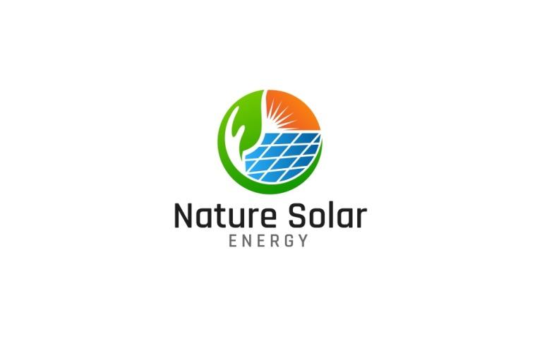 Nature Solar Energy Logo Template New Screenshots BIG
