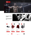 Plantilla OpenCart para Sitio de Tienda de Deportes New Screenshots BIG