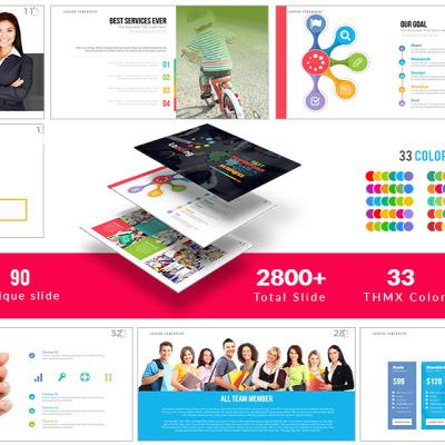 Powerpoint template over zakelijke diensten 63990 business powerpoint template toneelgroepblik Image collections