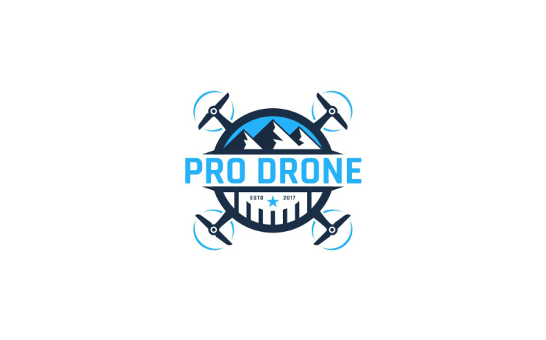 Pro Drone Logo Template New Screenshots BIG