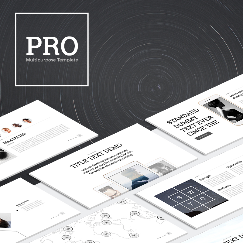 PRO Multipurpose PowerPoint Template