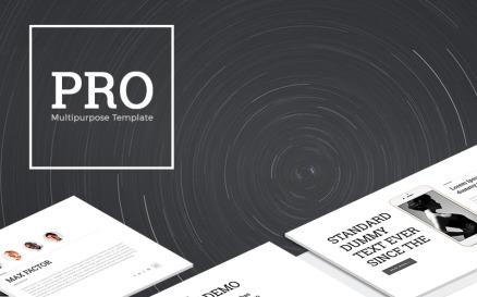 PRO Multipurpose PowerPoint template PowerPoint Template