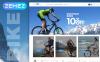 Responsives Magento Theme für Radfahren  New Screenshots BIG