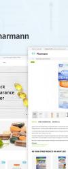 Responzivní Magento motiv na téma Lékárna New Screenshots BIG