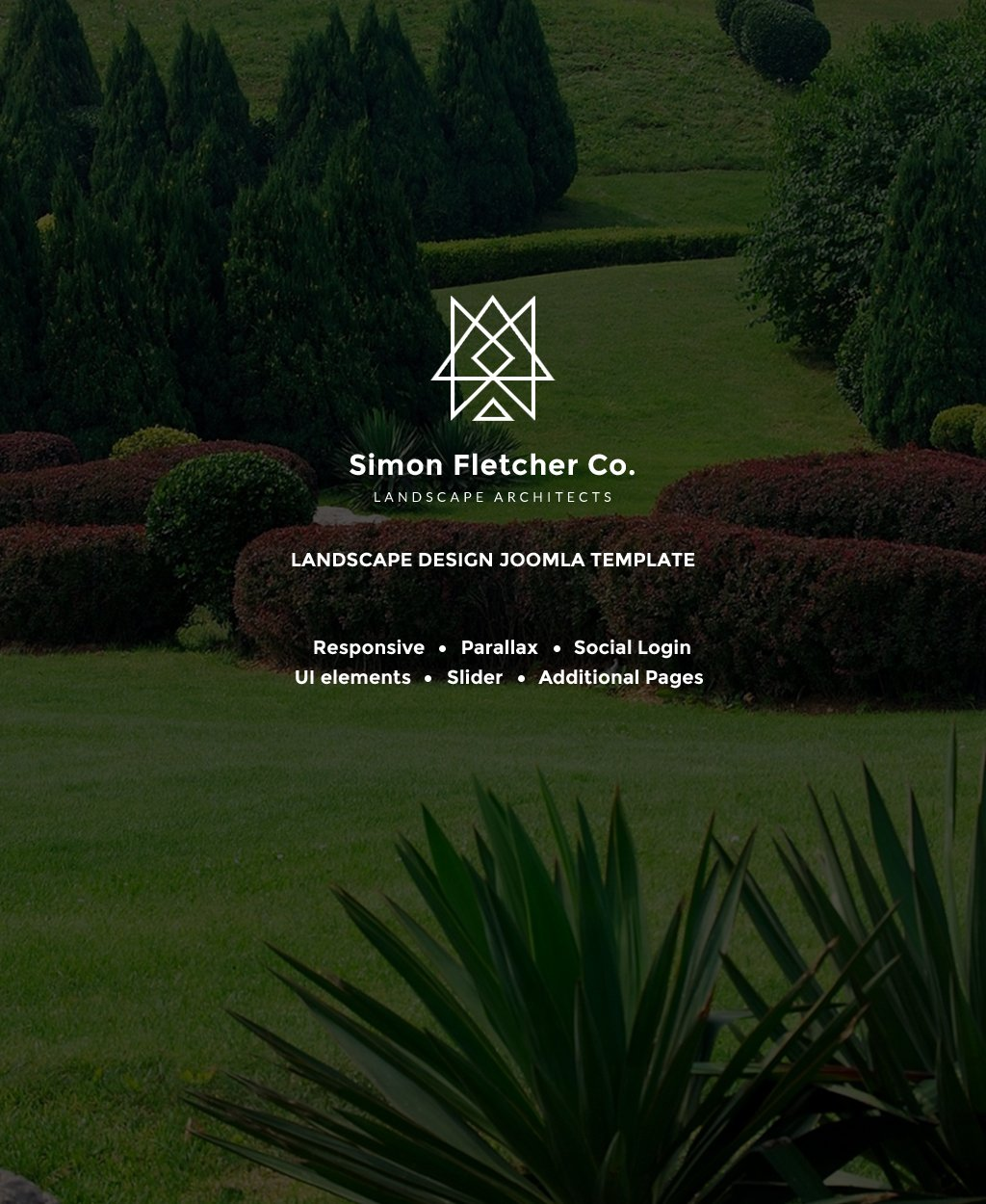 Simon Fletcher - Landscape Architects Joomla Template