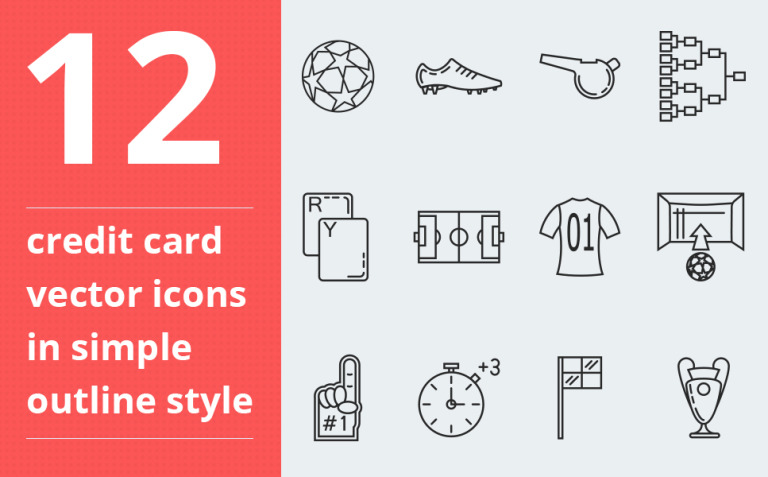 Soccer vector Iconset Template New Screenshots BIG
