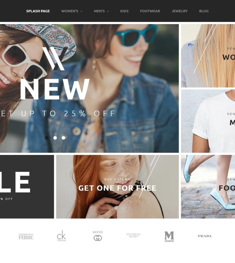 7570e88218 Styler 2 - szablon PrestaShop dla e-sklepu odzieżowego Duży zrzut ekranu