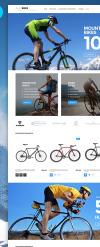 Thème Magento adaptatif  pour site de cyclisme New Screenshots BIG