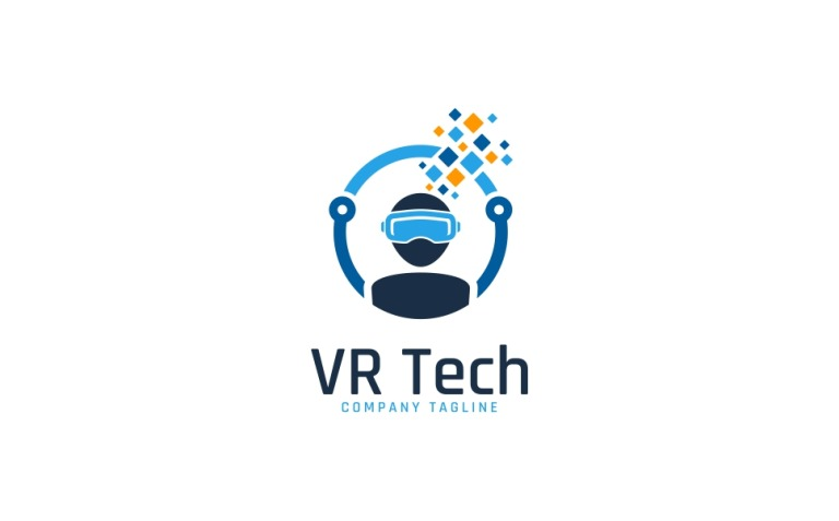 Virtual Reality Technology Logo Template New Screenshots BIG