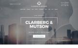 Weblium Website Concept para Sitio de Bufetes de abogados