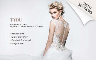Wedding Shop Responsive Shopify Theme