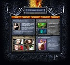 Flash: Web Design Personal Pages Flash Site Halloween Templates Halloween Templates