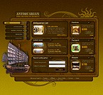 Flash: Online Store/Shop Flash Site Antique Templates