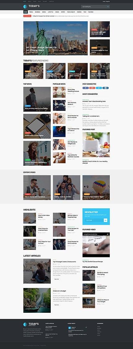 Media Joomla Template  3