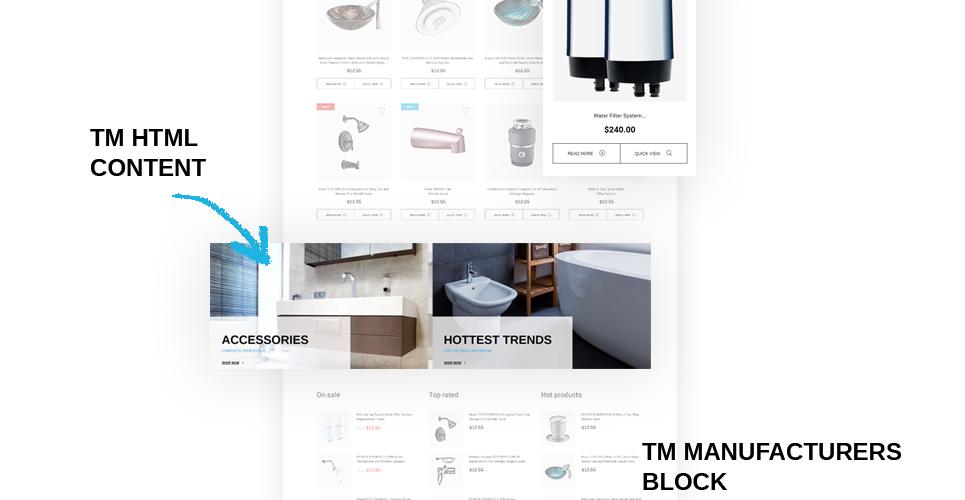Website Design Template 64022 - offer experience special expert