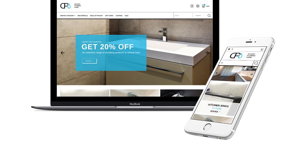 Website Design Template 64022 - tap faucet sink employment staff master plumber tips hint standard offer experience special expert