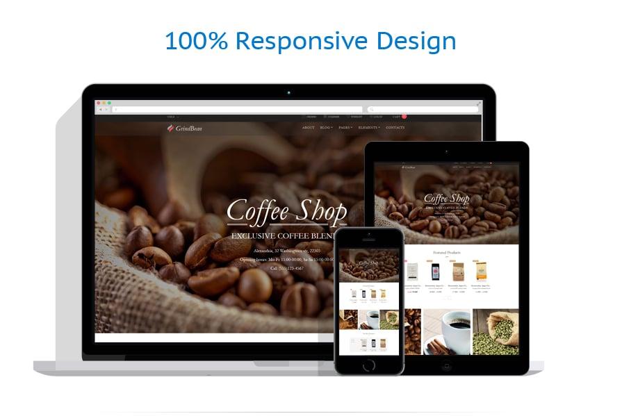 WooCommerce Themes Café et Restaurant #64026