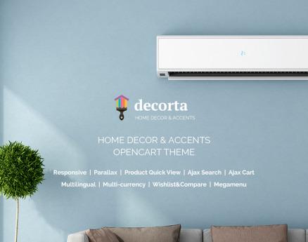 Interior & Furniture OpenCart Template