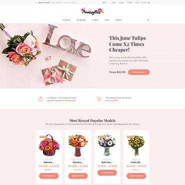 Купить  пофессиональные WooCommerce шаблоны. Купить шаблон #64038 и создать сайт.