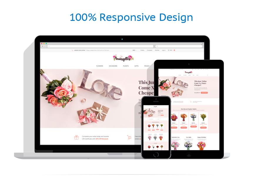 WooCommerce Themes Fleurs #64038
