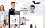 Responsivt PrestaShop-tema för skobutik