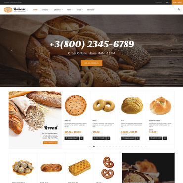 Preview image of Food & Drink Shopify Theme No. 64056