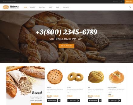 Food & Drink Shopify Theme