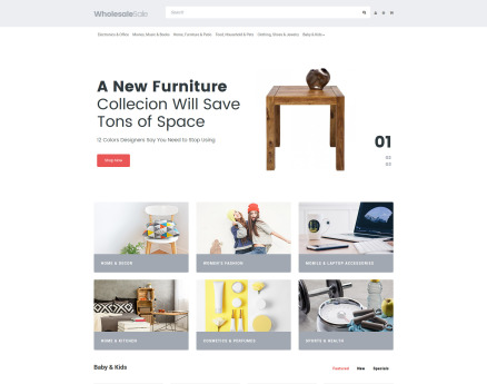 Business OpenCart Template