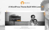 Responsivt WordPress-tema för NGO