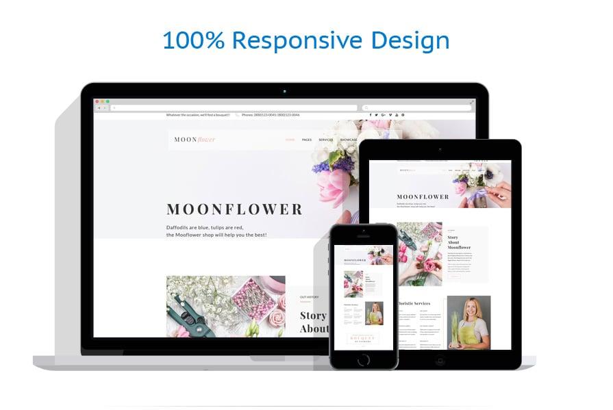 Thèmes WordPress Fleurs #64080