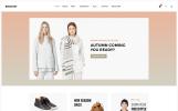 Адаптивний WooCommerce шаблон на тему мода