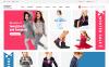 Адаптивный OpenCart шаблон №64034 на тему модный магазин New Screenshots BIG