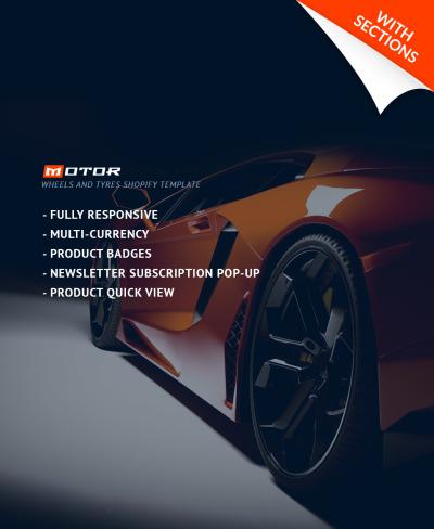 Адаптивный Shopify шаблон №64055 на тему автомонтаж