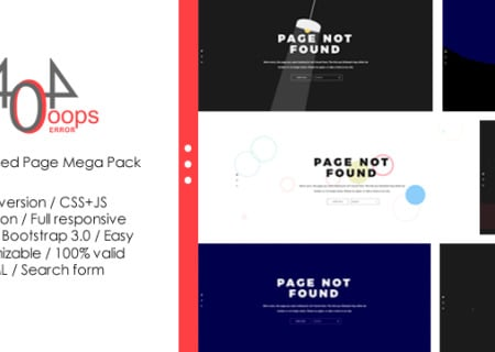 404 - Animated Page Mega Pack