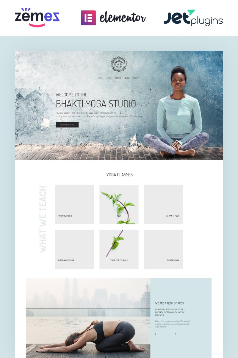 Bhakti WordPress Theme