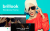 Brillook - Moda Bloğu Duyarlı WordPress Teması New Screenshots BIG