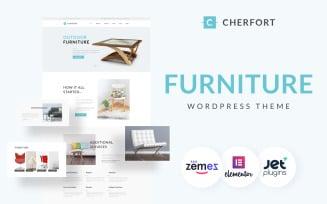 Cherfort - Furniture Company Responsive WordPress Theme