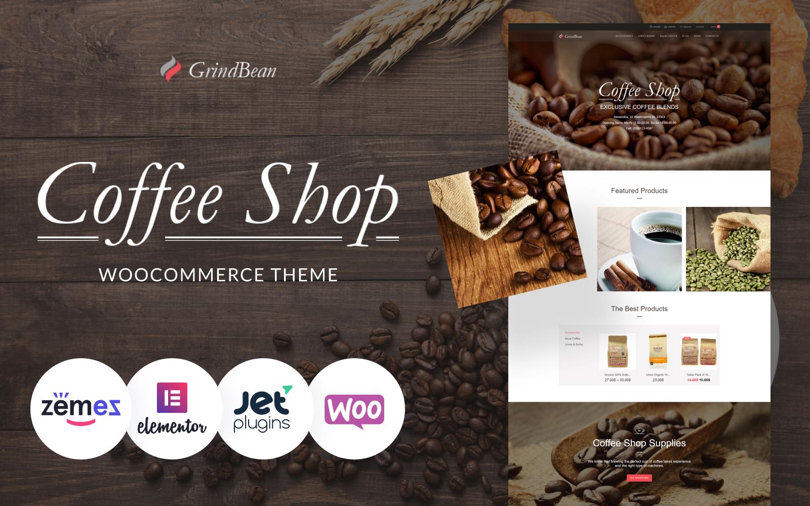 CoffeeShop - Responsive №64026