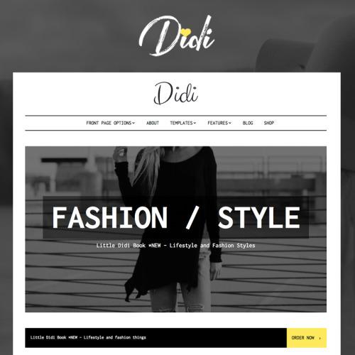 Didi  - Responsive WordPress Template
