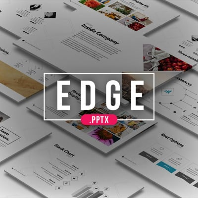 """Edge"" PowerPoint Template #64015"